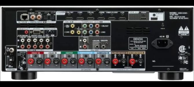 Denon AVR-X3000 Vs AVR-X3100W