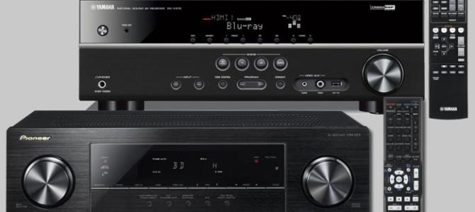 Pioneer VSX 523 Vs Yamaha RX-V375