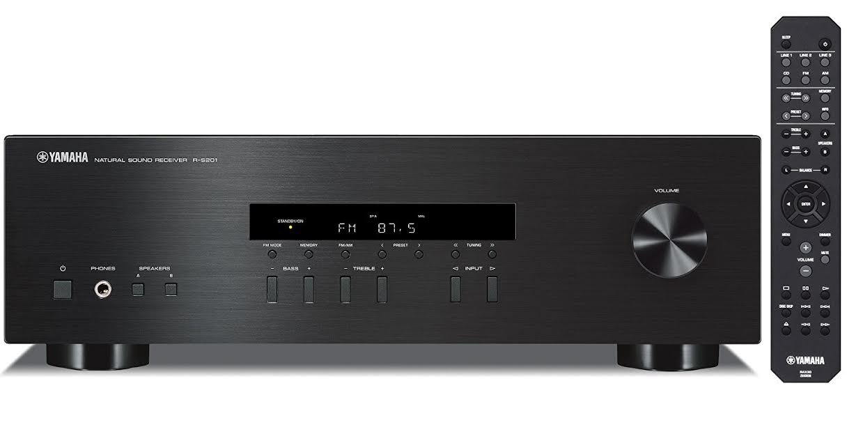 Yamaha R S201 Review Sleek Stereo Receiver with Powerful Pristine Sound