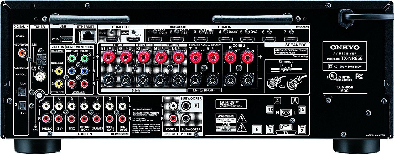 Onkyo TX NR656 Vs Denon AVR S920W 2