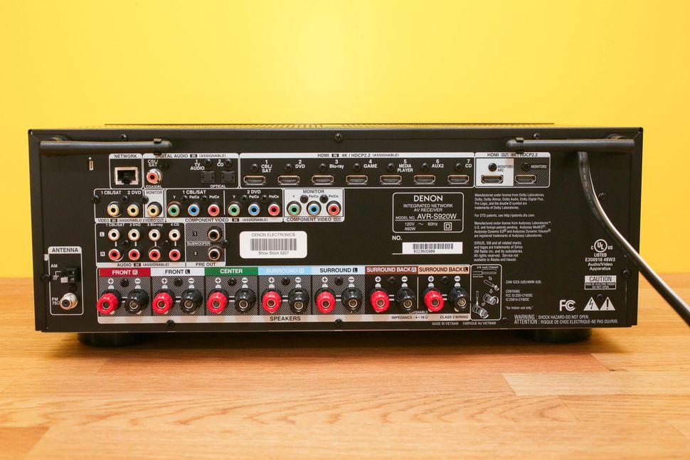 Onkyo TX NR656 Vs Denon AVR S920W 3