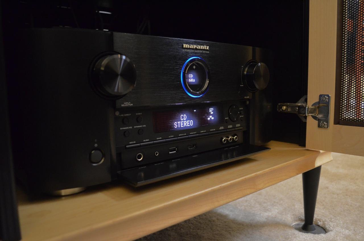 Marantz SR6008 Vs Denon X4000