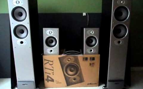 Polk Audio RTI8 Vs Polk Monitor 70