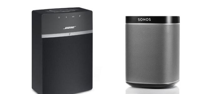 Bose SoundTouch 10 Vs Sonos Play 1