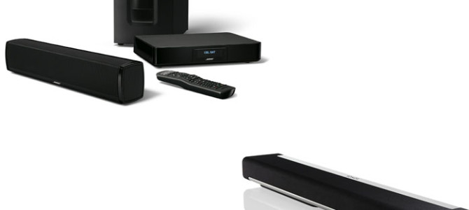 Bose CineMate 120 Vs Sonos Playbar