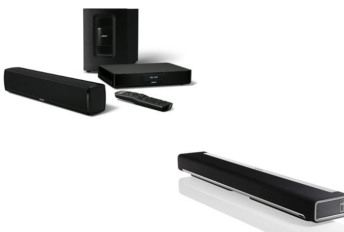 Bose CineMate 120 Vs Sonos Playbar