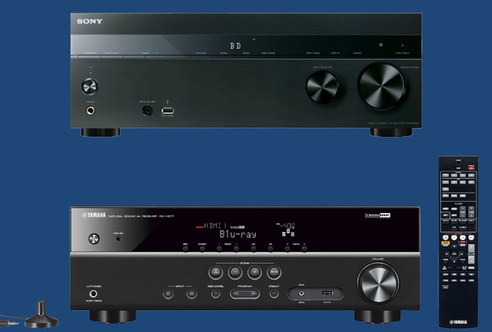 Sony STR-DH550 Vs Yamaha RX-V377