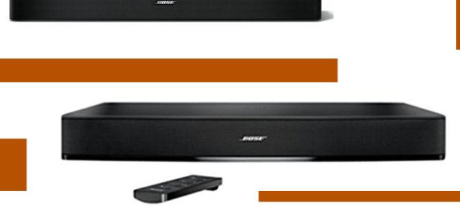 Bose Solo 5 Vs 10