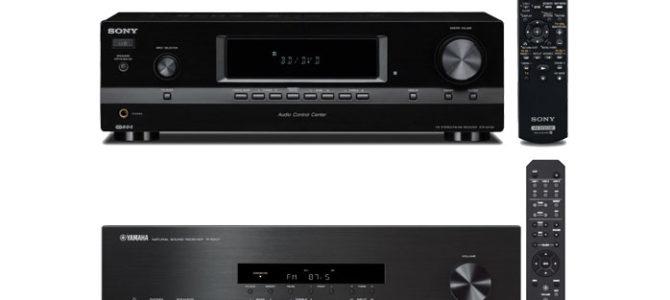 Sony STRDH130 Vs Yamaha R-S201