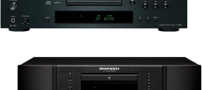 Onkyo C 7030 Vs Marantz CD6005