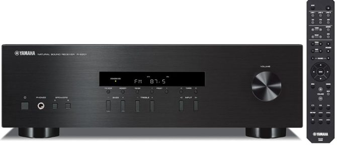 Yamaha R S201 Review: Sleek Stereo Receiver with Powerful Pristine Sound