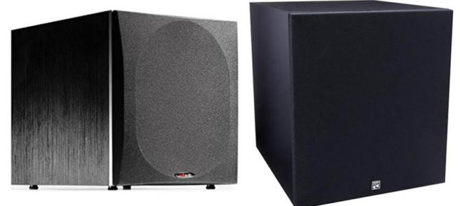 Polk Audio PSW505 Vs BIC America F12