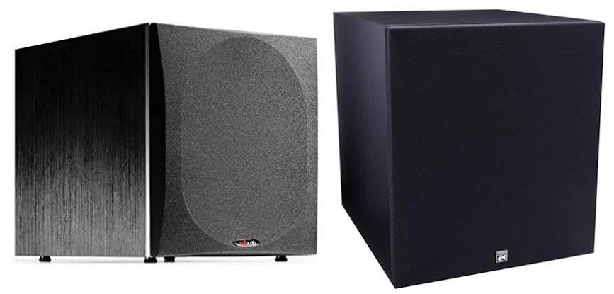 Polk Audio PSW505 Vs BIC America F12
