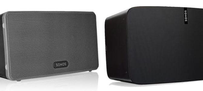 Sonos Play 3 Vs Play 5