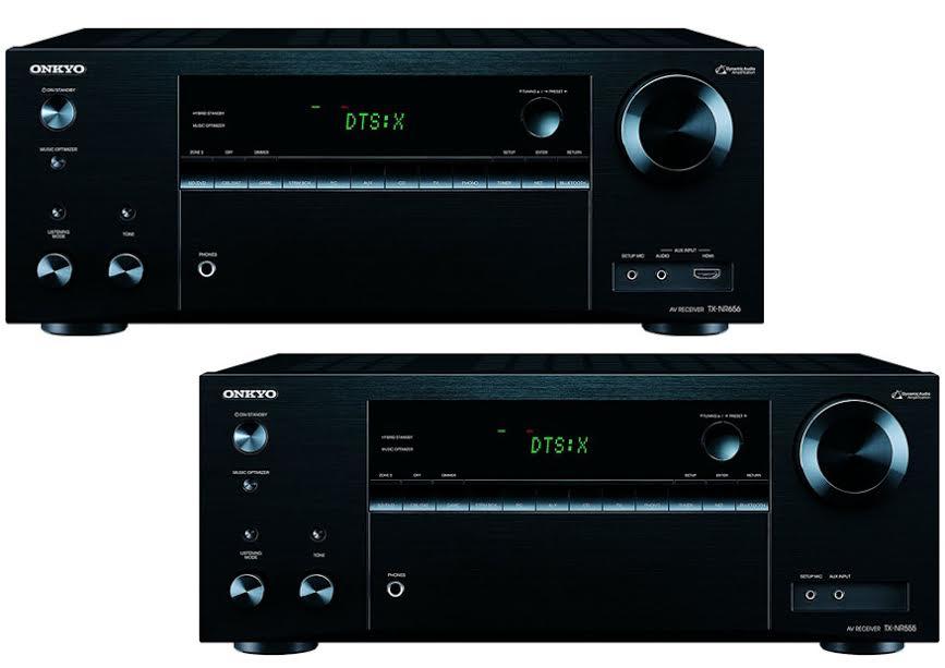 Onkyo TX NR656 Vs TX NR555 1