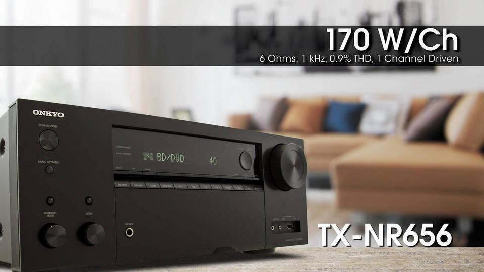 Onkyo TX NR656 Vs TX NR555 2