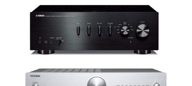 Yamaha A-S301BL Vs Onkyo A-9010