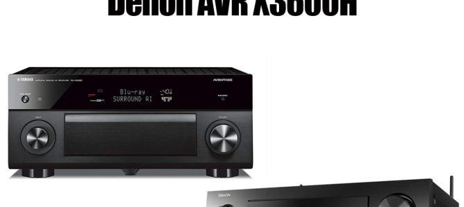 Yamaha RX A2080 Vs Denon AVR X3600H