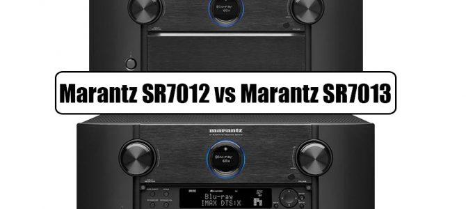 Marantz SR7012 Vs Marantz SR7013